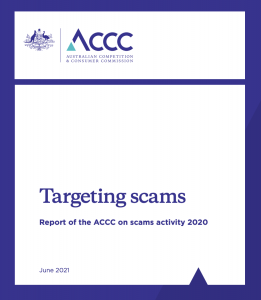 accc targeting scams report