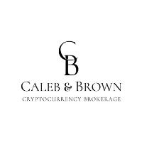 blockchain australia caleb & brown logo